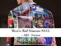 Raf Simons Mens SS 2015